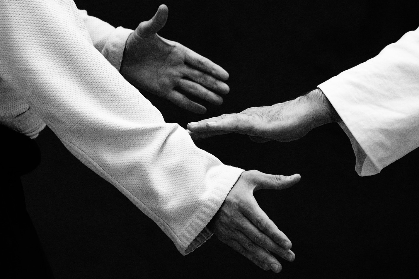 Aikido Handshake: Being Visible and Vulnerable