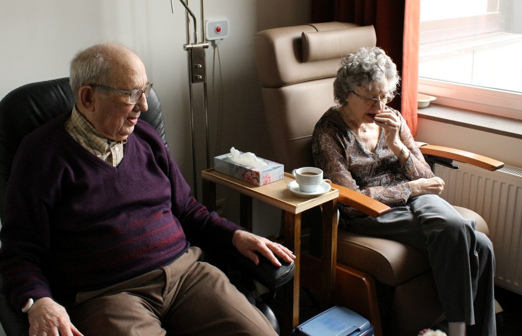 Older Adults Sitting